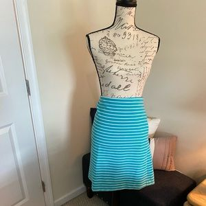 Talbots stripped skirt size 16w
